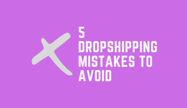 5 dropshipping mistakes to avoid cover