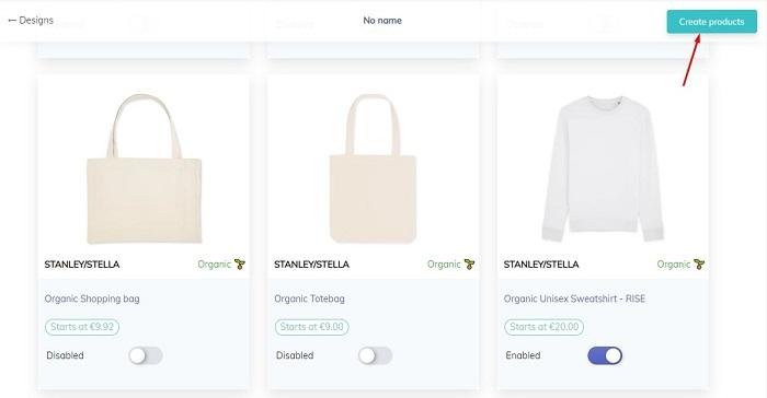 Making Unisex T-Shirt in T-Pop Shopify App