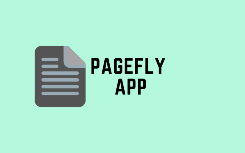 pagefly shopify app review cover