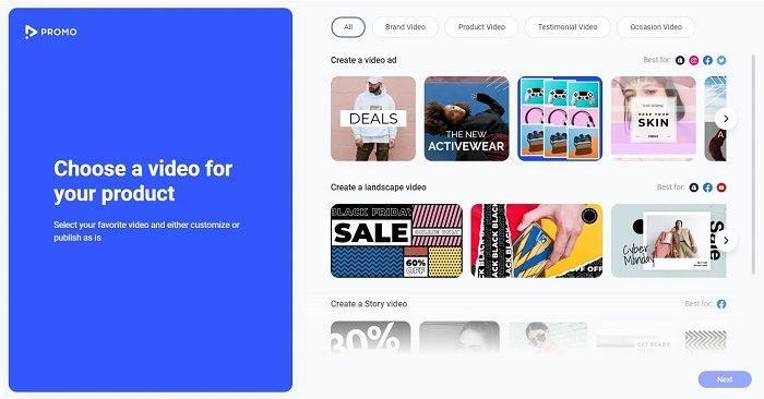 Promo.com Shopify app templates