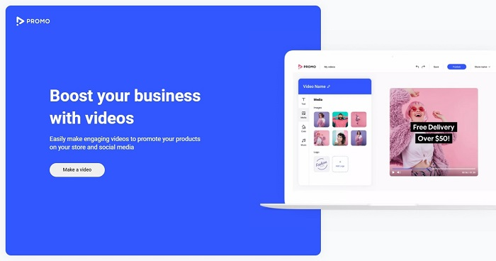 Promo Shopify app review 2021 easiest way to make marketing videos