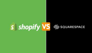 Shopify vs squarespace ecommerce platform comparison cover