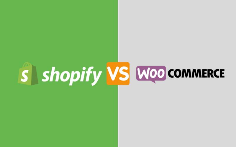 Shopify vs Woocommerce ecommerce comparison
