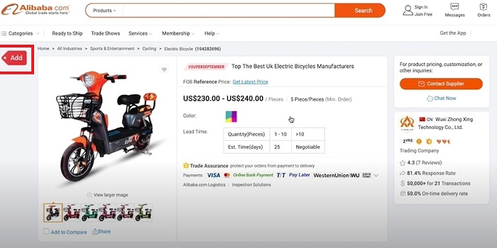 alibaba to shopify importing process