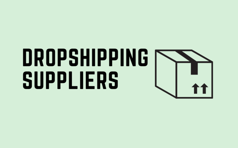 dropshipping suppliers article cover