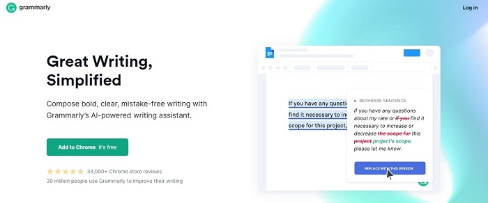 Grammarly Chrome Extension for Dropshipping
