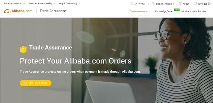 how to dropship on Shopify with Alibaba and have benefits of Alibaba Trade Assurance
