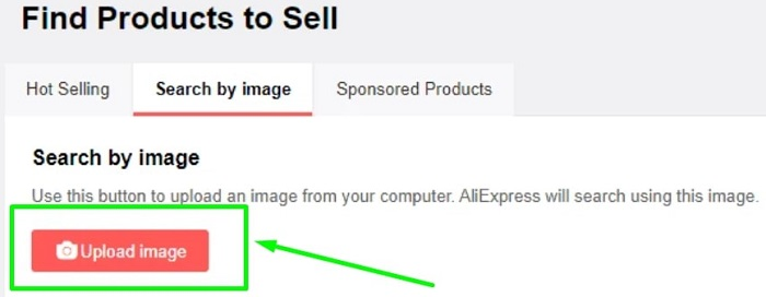 How to Use AliExpress Dropship Center As A Beginner and Search Products By Image