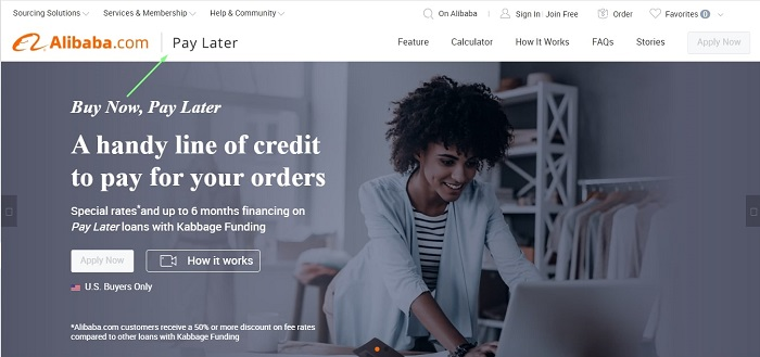 learn how to dropship on shopify with alibaba and pay later