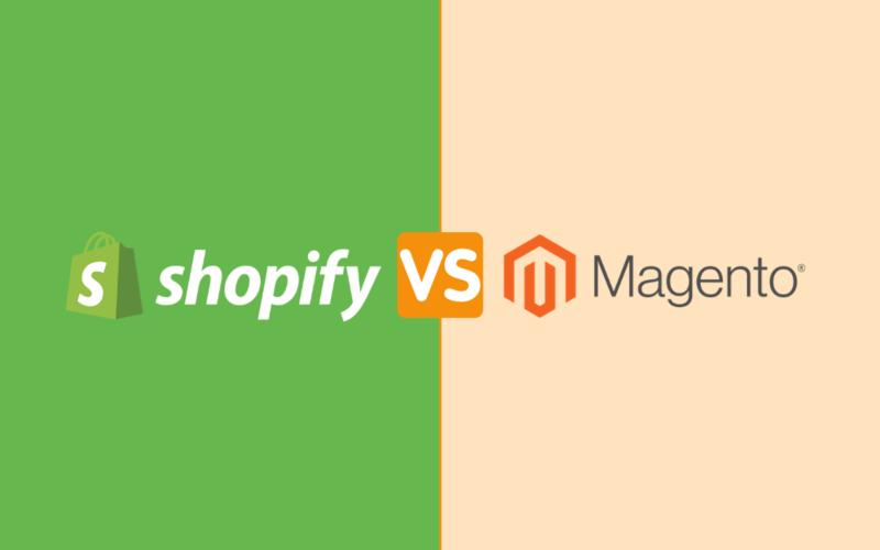 Magento vs Shopify platform comparison