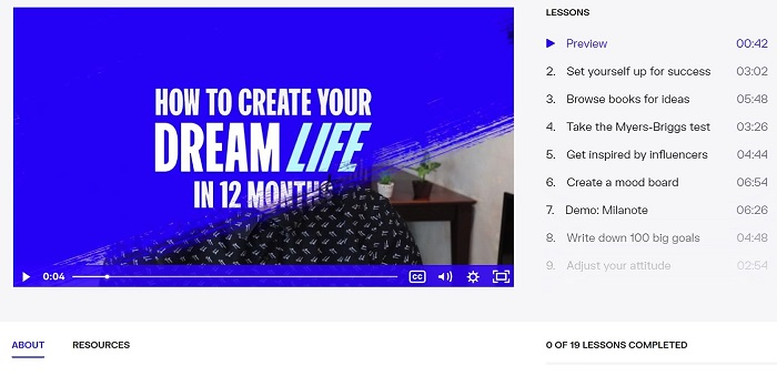 oberlo design your dream life course review