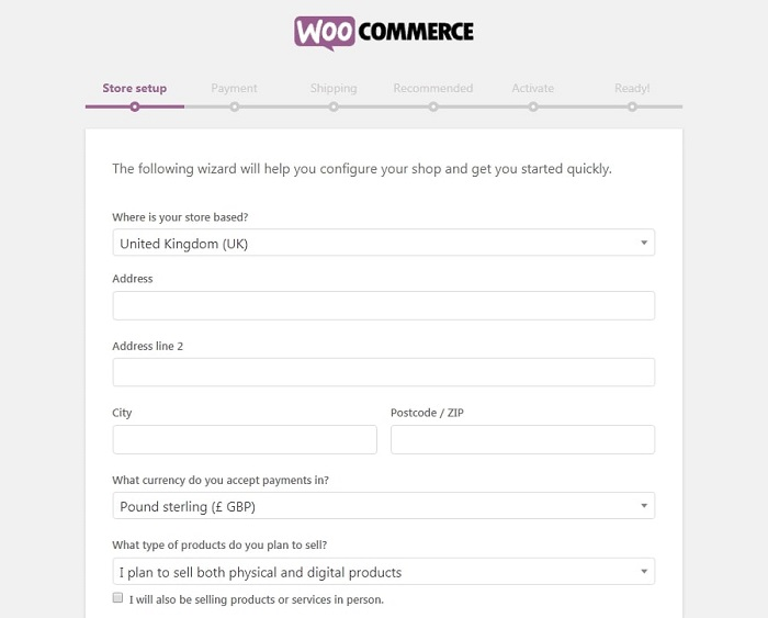 woocommerce registration tutorial for beginners