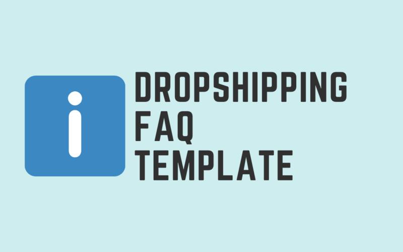 Dropshipping FAQ Template Post Cover