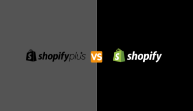 Shopify plus vs shopify