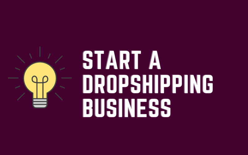 Start a dropshipping business post cover