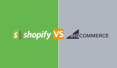 Shopify vs bigcommerce post cover