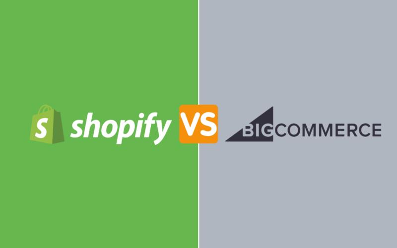 Shopify vs bigcommerce post cover