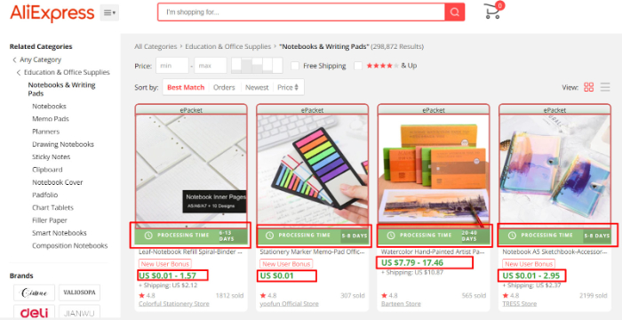 aliexpress extension that imports prodcuts to shopify
