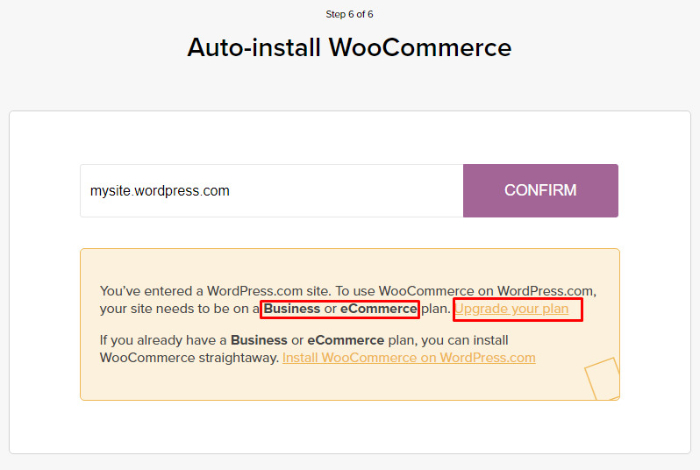 auto install woocommerce