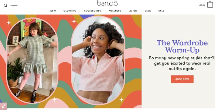 bando clothes dropshipping store