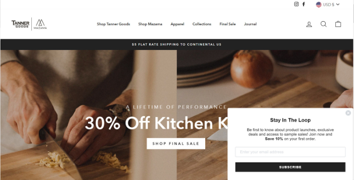 best shopify store examples in routine products