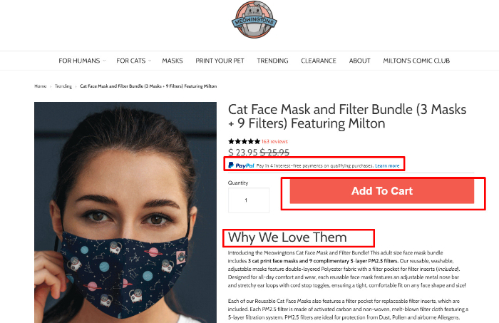 breaking down one of the best shopify store examples