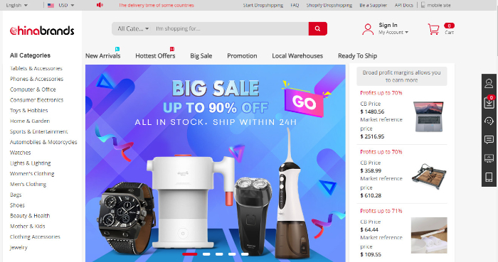 china brands private label dropshipping supplier