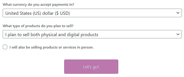 currency selection on woocommerce