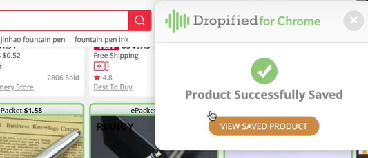dropified chrome extension review
