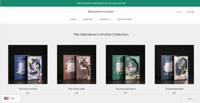 ecommerce business store example