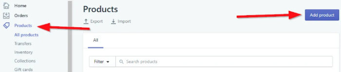 how to add products to shopify fast