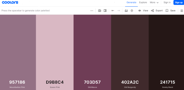 how to pick a great color theme for a dropshipping store