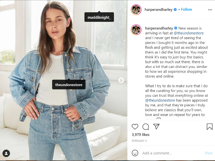 influencer marketing for clothes dropshipping store