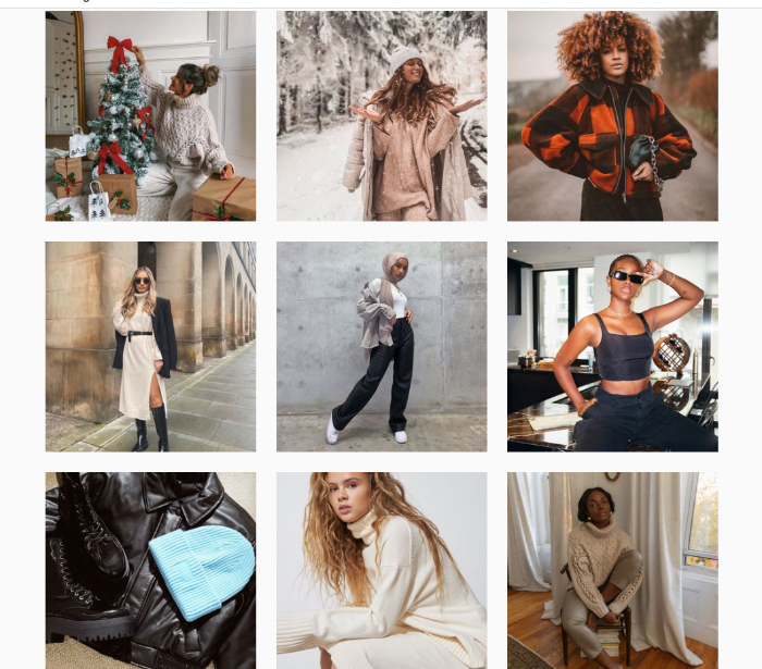 instagram clothing influencer examples