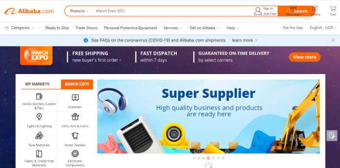 is alibaba good for private label dropshipping
