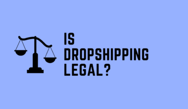 is dropshipping is legal
