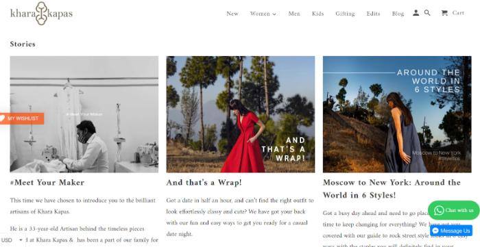 khara khapas store blog