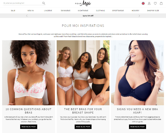 leverage content marketing for clothes dropshipping store