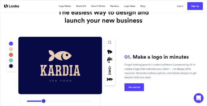 looka logo maker review