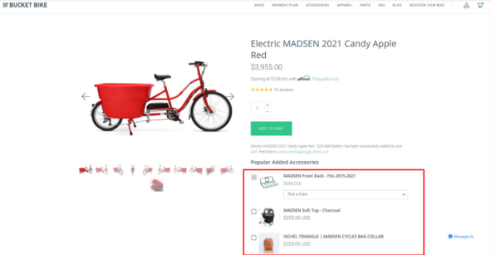 one of the best pages for ecommerce marketing