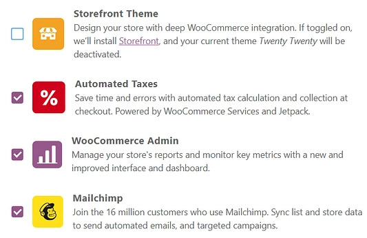 recommended extensions on woocommerce