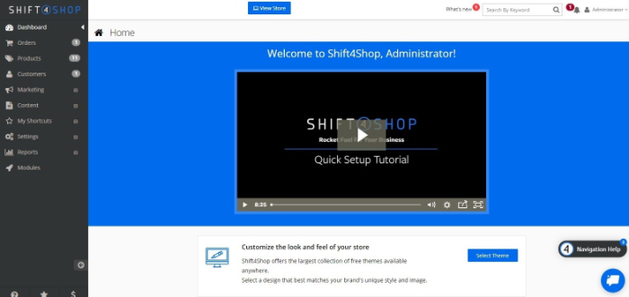 shift4shop ecommerce store builder review