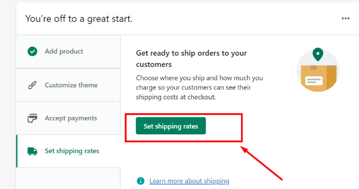 shipping and delivery in shopify