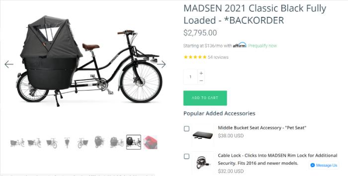 shopify bike store illustration