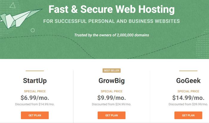 siteground hosting for WordPress eCommerce website