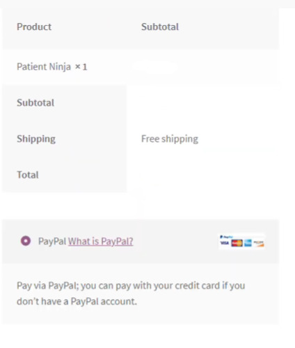 successful paypal and wordpress integration example