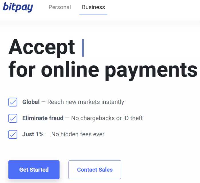 get started with bitpay