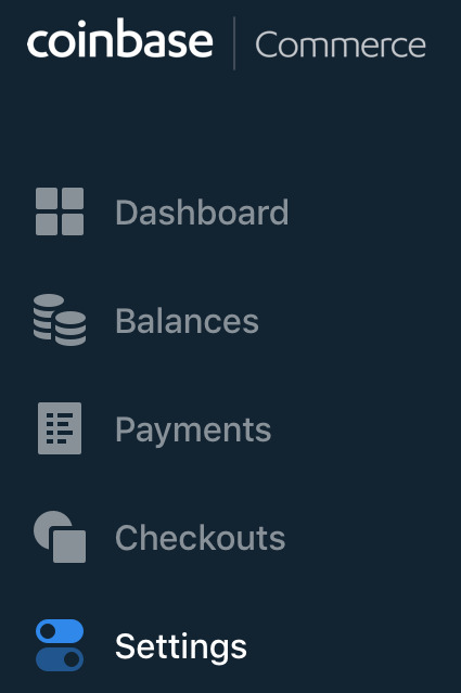set up bitcoin payment with coinbase commerce