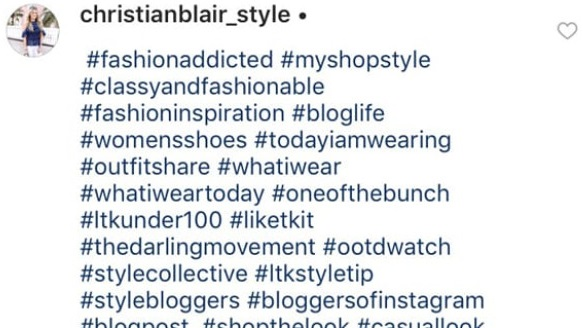 use hashtags on instagram to grow organically