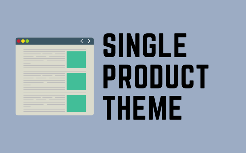 Best Single Product Shopify Theme